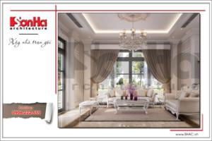 BÌA Thiết kế nội thất phòng khách khu đô thị Vinhome Imperia Hải Phòng