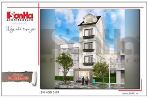 BÌA Kiến trúc nhà ống hiện đại tại Quảng Ninh sh nod 0176