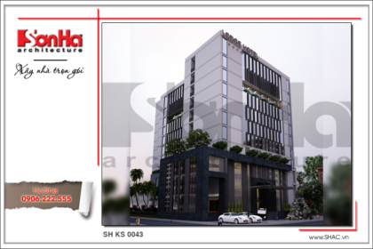 BIA Thiết kế kiến trúc khách sạn hiện đại tại Phú Quốc sh ks 0043