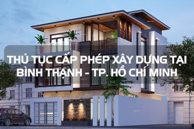 Hồ sơ cấp phép xây dựng nhà ở riêng lẻ tại quận Bình Thạnh - TP Hồ Chí Minh 8