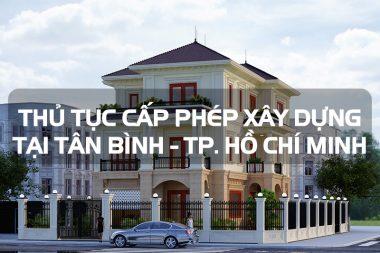 Hồ sơ xin cấp phép xây dựng biệt thự nhà ở riêng lẻ tại quận Tân Bình - TP. Hồ Chí Minh 9
