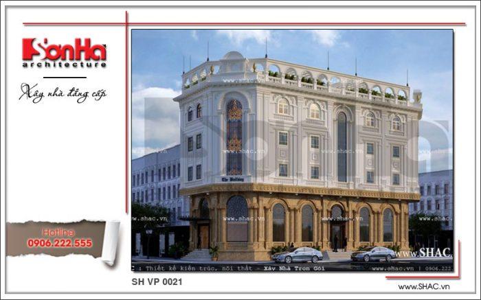 Kiến trúc mãn nhãn và sang trọng của mẫu thiết kế văn phòng phong cách cổ điển châu Âu