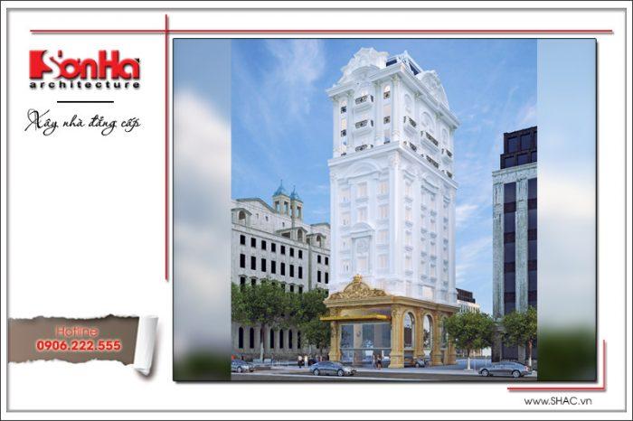 Kiến trúc tinh tế của mẫu thiết kế tòa nhà văn phòng phong cách cổ điển thương hiệu SHAC