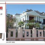 Không gian nhà đẹp số 7 - Biệt thự cổ điển phong cách châu Âu 2 tầng tại Quảng Bình 3