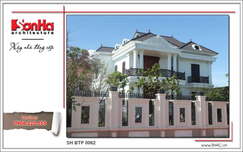 Không gian nhà đẹp số 7 - Biệt thự cổ điển phong cách châu Âu 2 tầng tại Quảng Bình 1