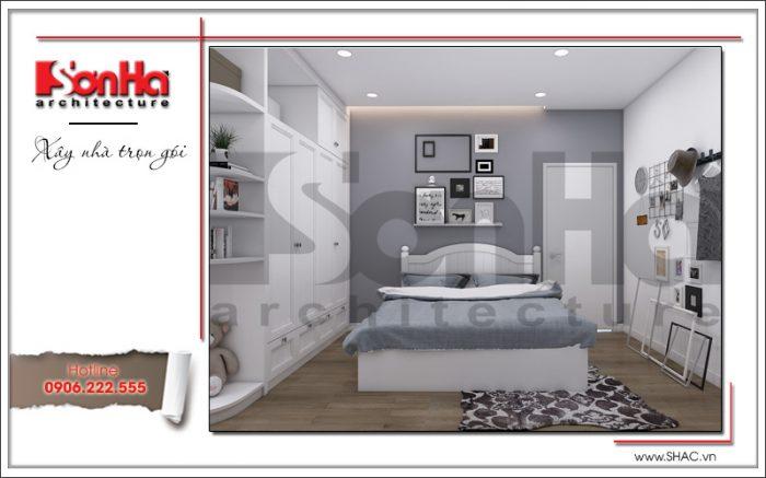 Mẫu phòng ngủ con gái có thiết kế nội thất hiện đại đẹp và trẻ trung với bày trí đồ đạc tinh tế