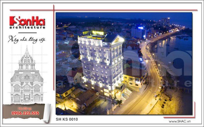 Mẫu thiết kế khách sạn 4 sao được cấp phép xây dựng nhanh chóng làm giàu bản sắc SHAC