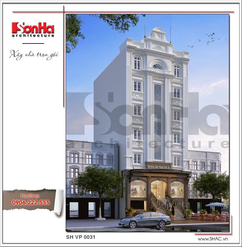 Mẫu thiết kế tòa nhà văn phòng cổ điển được cấp phép xây dựng nhanh chóng và suôn sẻ