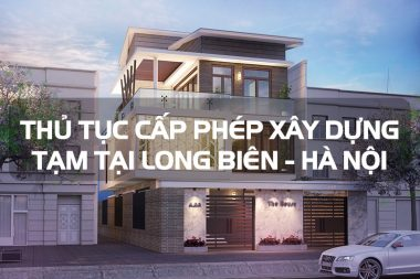Mẫu thiết kế văn phòng và thủ tục cấp phép xây dựng tạm tại quận Long Biên - Hà Nội 10