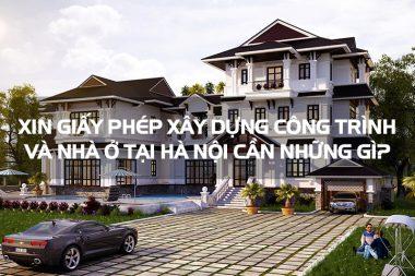 Xin cấp phép xây dựng nhà ở riêng lẻ tại đô thị Hà Nội cần hồ sơ gì? 5