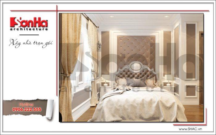 Ý tưởng thiết kế nội thất phòng ngủ cổ điển với cách kết hợp màu sắc ấn tượng mang nét cá tính