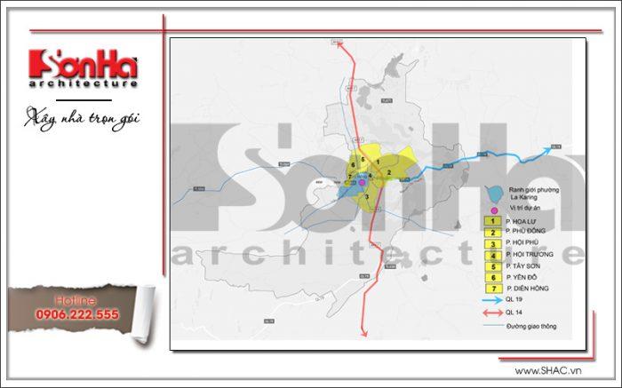 Ý tưởng thiết kế và quy hoạch công viên Diên Hồng tại Pleiku Gia Lai (1)