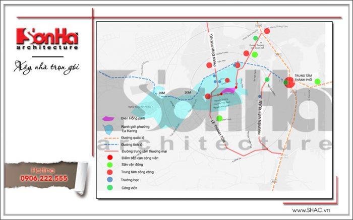 Ý tưởng thiết kế và quy hoạch công viên Diên Hồng tại Pleiku Gia Lai (2)