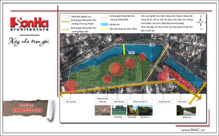 Ý tưởng thiết kế và quy hoạch công viên Diên Hồng tại Pleiku Gia Lai (6)