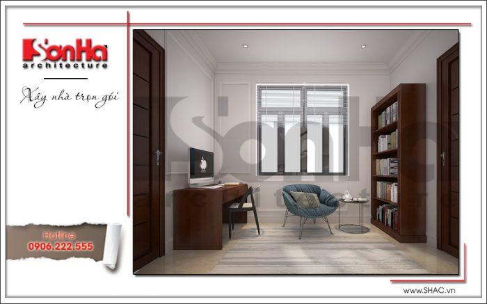 11 Thiết kế nội thất sảnh tầng 2 biệt thự khu đô thị vinhomes tại hải phòng