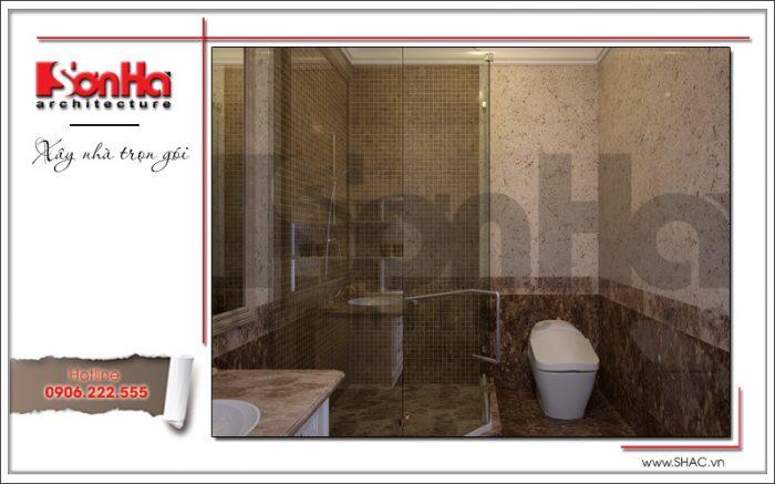 12 Mẫu nội thất phòng tắm wc biệt thự tại khu đô thị vinhomes hải phòng