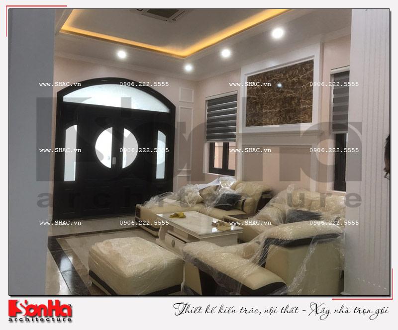 Không gian nhà đẹp số 10 - Hình ảnh thực tế nhất về thiết kế thi công nội thất biệt thự Paris Vinhomes Imperia 2