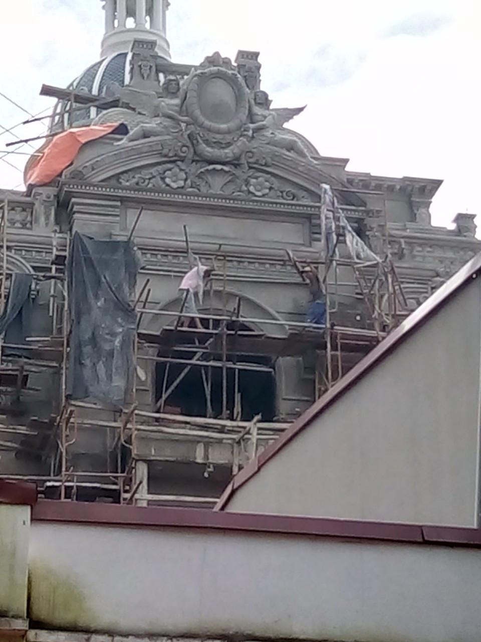 Xây nhà trọn gói công trình biệt thự cổ điển 4 tầng xa hoa tại Hà Nội – SH BTLD 0021 19