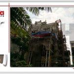5 ảnh thực tế công trình biệt thự lâu đài btld 0021