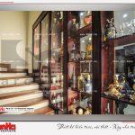 5 Ảnh thực tế nội thất cầu thang biệt thự tân cổ điển khu đô thị vinhomes hải phòng