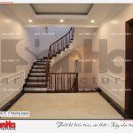 5 Ảnh thực tế nội thất sảnh thang tầng 2 biệt thự tân cổ điển khu đô thị vinhomes hải phòng