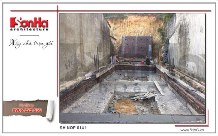 5 Ảnh thực tế thi công nhà ống pháp tại quảng ninh sh nop 0141