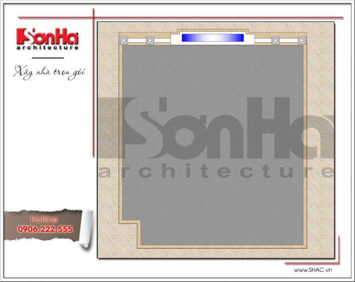 5 Mặt bằng công năng tầng mai showroom tại bắc ninh sh sr 0021