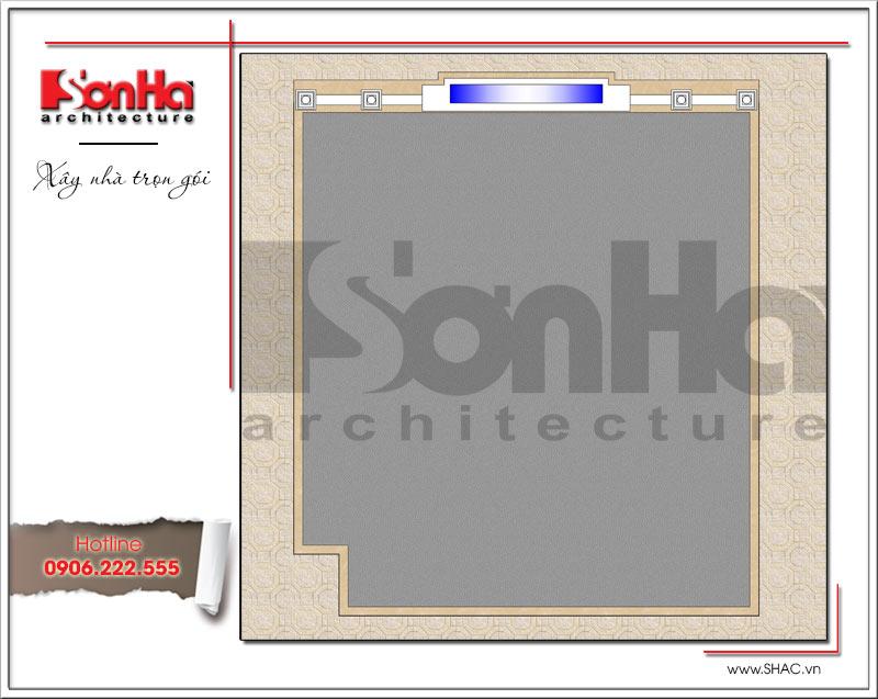 Hồ sơ thiết kế kiến trúc showroom và bản vẽ mặt bằng tại Bắc Ninh - SH SR 0021 5