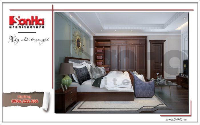 5 Thiết kế nội thất phòng ngủ 1 biệt thự khu đô thị vinhomes hải phòng