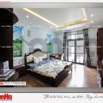 6 Ảnh thực tế nội thất phòng ngủ 1 biệt thự tân cổ điển khu đô thị vinhomes hải phòng