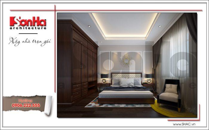 7 Thiết kế nội thất phòng ngủ 2 biệt thự khu đô thị vinhomes hải phòng