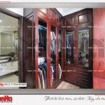 8 Ảnh thực tế nội thất phòng thay đồ biệt thự tân cổ điển khu đô thị vinhomes hải phòng