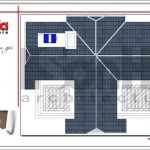8 Mặt bằng công năng tầng mái biệt thự tân cổ điển tại quảng ninh sh btp 0117