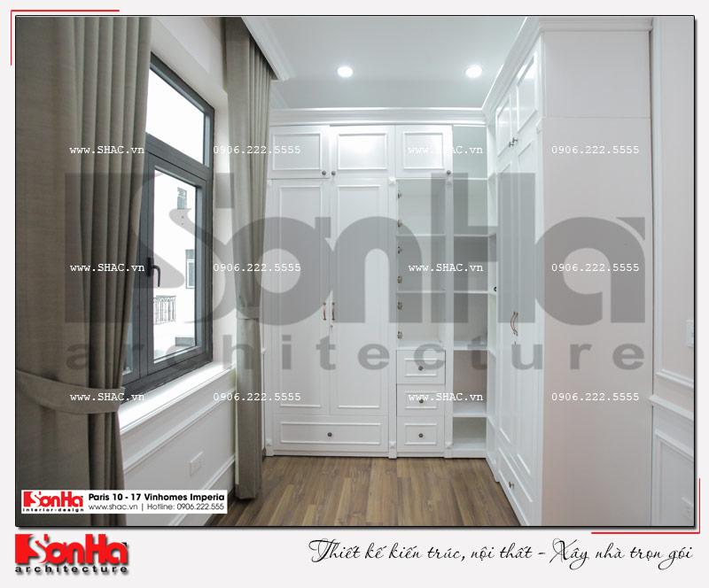 Không gian nhà đẹp số 10 - Hình ảnh thực tế nhất về thiết kế thi công nội thất biệt thự Paris Vinhomes Imperia 11