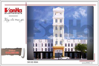 BIA Thiết kế kiến trúc khách sạn mini tại quảng ninh sh ks 0044