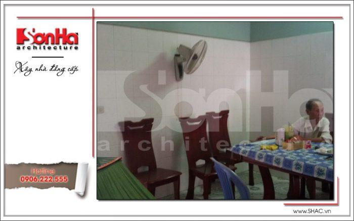 cải tạo nội thất phòng ăn nhà phố tại hải phòng