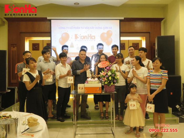 Mừng sinh nhật CBNV hàng quý nét đẹp văn hóa Sơn Hà Architecture (1)