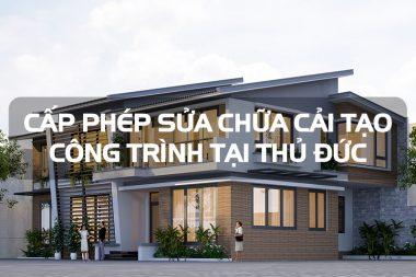 Quy định mới nhất về thủ tục cấp phép cải tạo và sửa chữa nhà ở tại Thủ Đức - TP. Hồ Chí Minh 2
