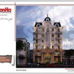 1 Thiết kế kiến trúc khách sạn 4 sao tại bến tre sh ks 0045