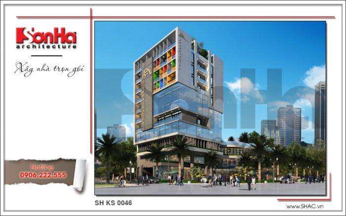 Phương án thiết kế cải tạo khách sạn tiêu chuẩn quốc tế 3 sao Vân Hải tại Quảng Ninh