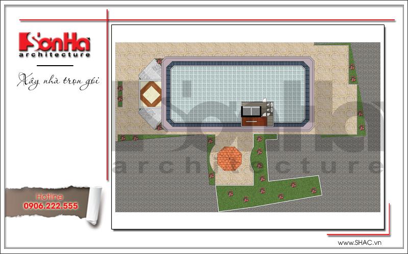 Mặt bằng khách sạn 3 sao phong cách cổ điển pháp tại Bến Tre - SH KS 0045 7