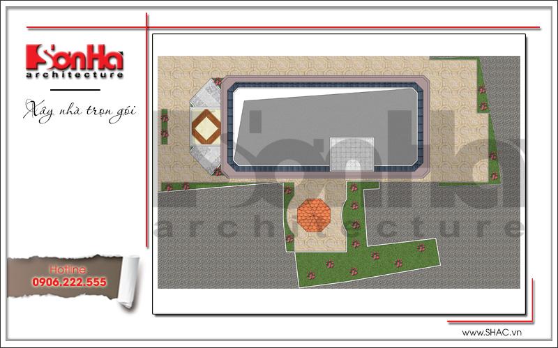 Mặt bằng khách sạn 3 sao phong cách cổ điển pháp tại Bến Tre - SH KS 0045 8