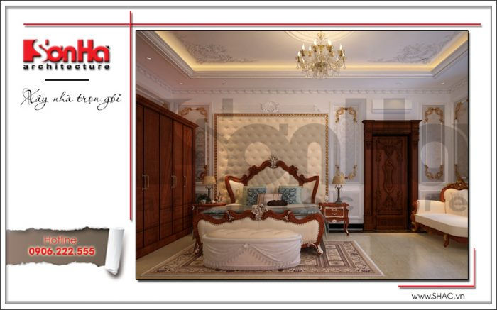 Các kiểu phòng ngủ đẹp vừa hợp phong thủy vừa dễ thi công nhất cho biệt thự nhà đẹp