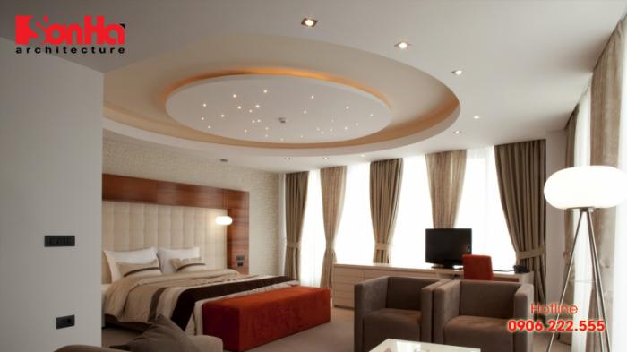Các loại vật liệu làm trần nhà phổ biến nhất hiện nay cho biệt thự nhà phố đẹp của SHAC