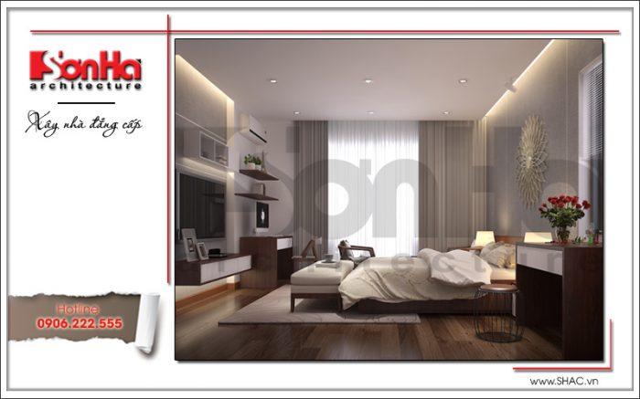 Cách lựa chọn đồ nội thất và cách phối hợp màu sắc có sự thống nhất hà hòa trong từng chi tiết