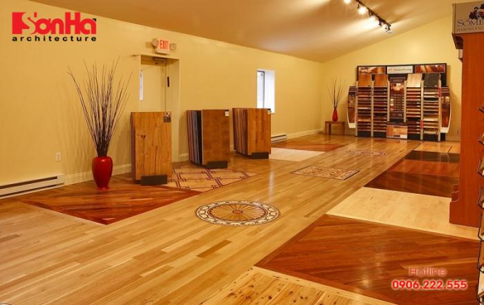 Có nên dùng sàn nhựa giả gỗ trong thiết kế thi công nội thất biệt thự nhà đẹp?