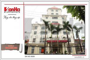 Kiến trúc và nội thất tổ hợp khách sạn nhà hàng tân cổ điển tại Quảng Ninh   SH KS 0029