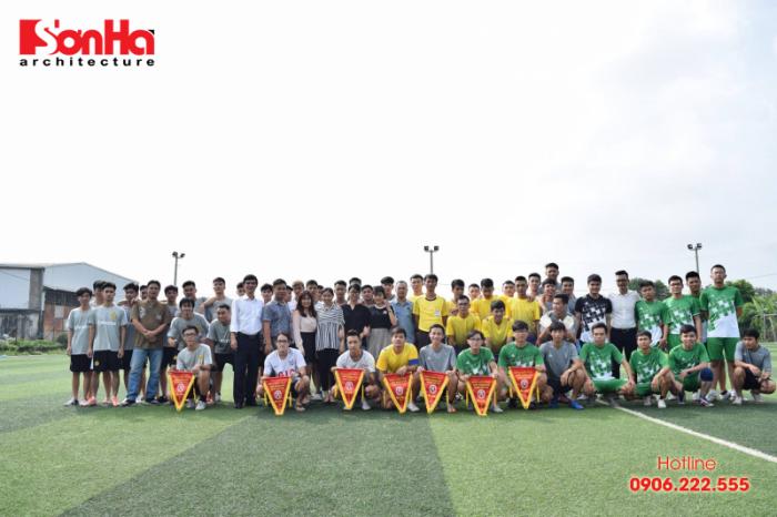 Sơn Hà Architecture hân hạnh đồng hành cùng Giải bóng đá sinh viên khoa Kiến trúc (Viện Đại học Mở) (4)