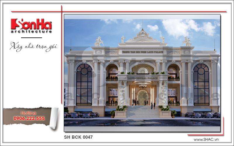 Kiến trúc nhà hàng tiệc cưới phong cách cổ điển tại Quảng Bình - SH BCK 0047 1