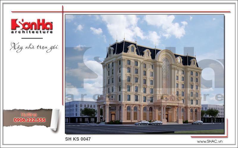 Thiết kế khách sạn 4 sao kiến trúc cổ điển tại Phú Quốc (Kiên Giang) – SH KS 0047 1